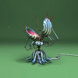  Fly Swatter Robot Concept