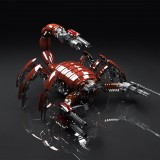  Red Scorpion 3D Render
