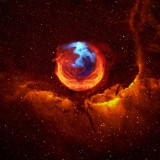 FireFox Nebula Vs. Hubble-Fox
