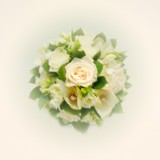 Ivory Wedding Bouquet Flowers