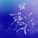  Free Vector Art Flower Blue